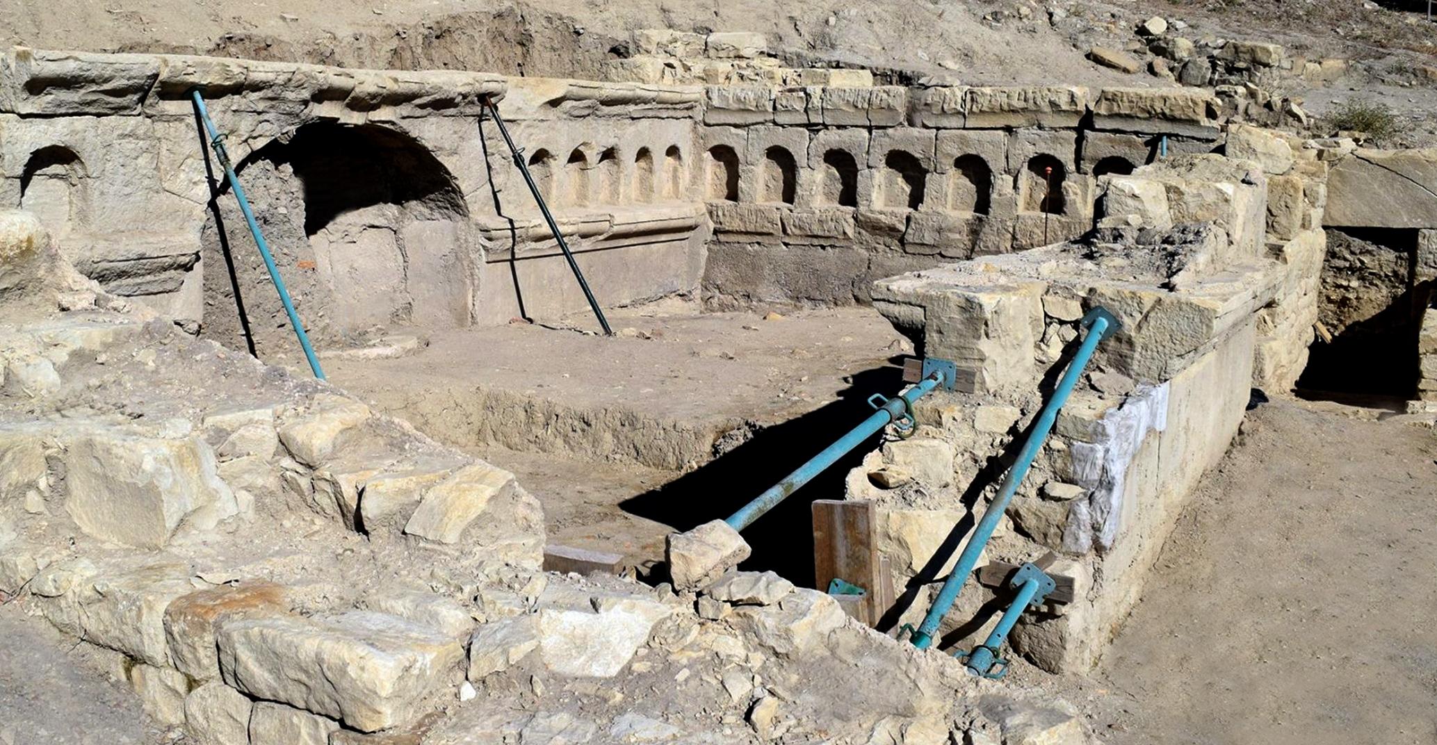 Nuevos trabajos de excavación